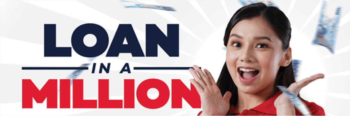Sali na sa Loan in a Million Raffle Promo