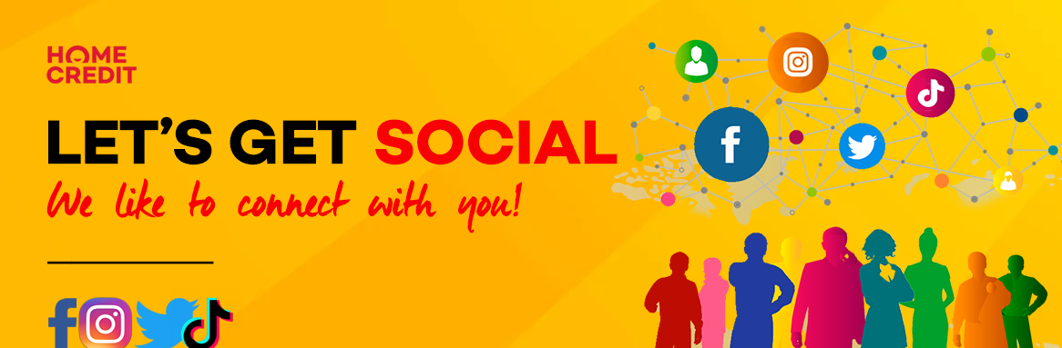 GET SOCIAL WITH HOME CREDIT PHILIPPINES!