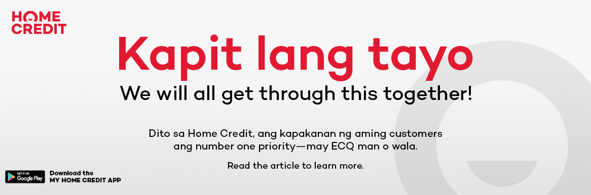 Tuloy-Tuloy na Services sa My Home Credit Mobile App this ECQ