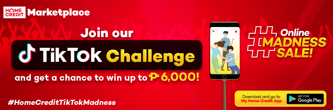 Join our TikTok Dance Challenge and win up to 6,000 pesos!