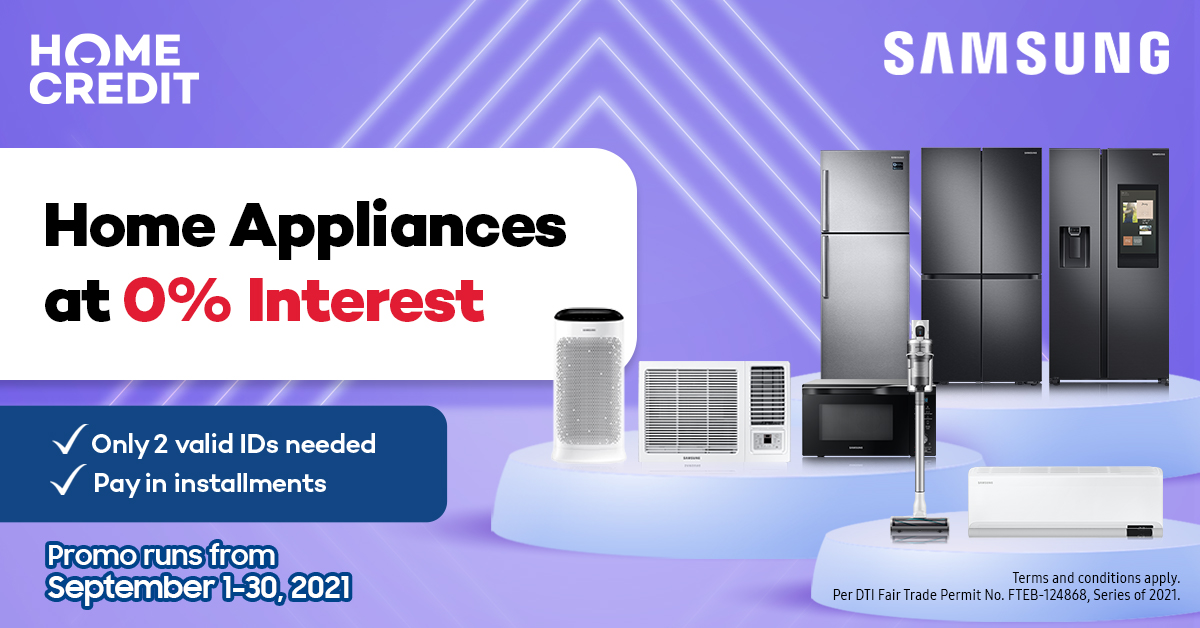 Home Upgrade Now, Pay Later: Find the Best Samsung Appliances at 0% Interest!
